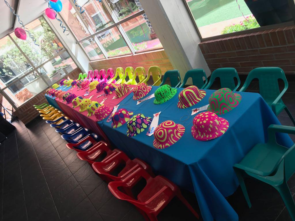 Alquiler de sillas infantiles Bogotá